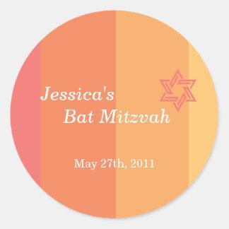 Tonal Citrus Bat Mitzvah sticker