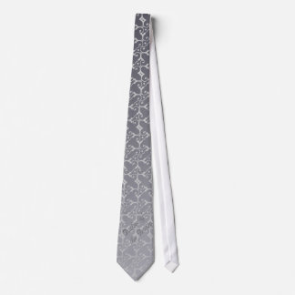 Tonal Elegance Silver FATHER OF THE GROOM Tie