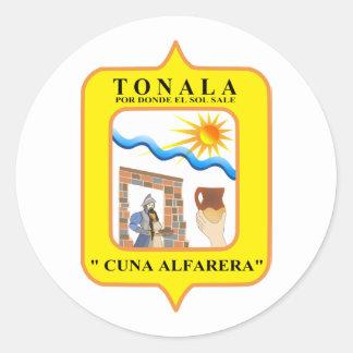 Tonala, Mexico Classic Round Sticker