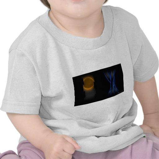 TONALIDAD de la SOMBRA - paz Camisetas