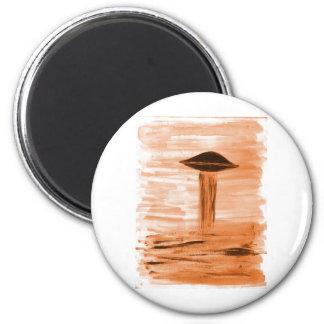 Tonalidad del oro de la pintura VISION-D8 Imán Redondo 5 Cm