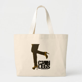 Tonalidad y grito - C'mon piernas - bolso Bolsa Tela Grande