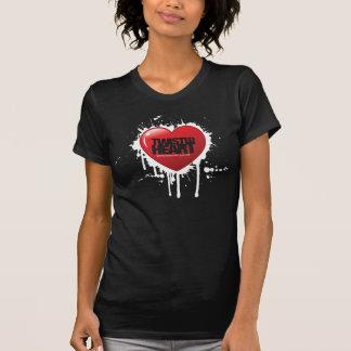 Tonalidad y grito - corazón torcido - camiseta