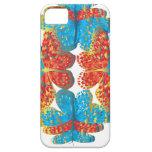 Tonalidades de la mariposa iPhone 5 carcasa