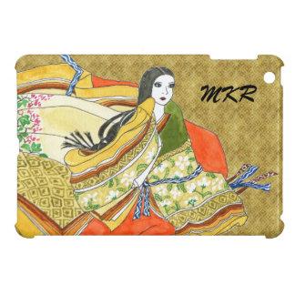 Tonalidades japonesas antiguas del otoño del kimon