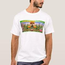 TONANTZIN Mexican Goddess T-Shirt