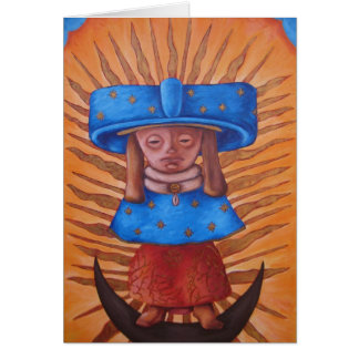 Tonantzin Teotihuacana Tarjeta