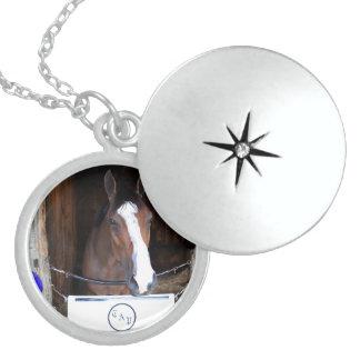 Tonasah Round Locket Necklace