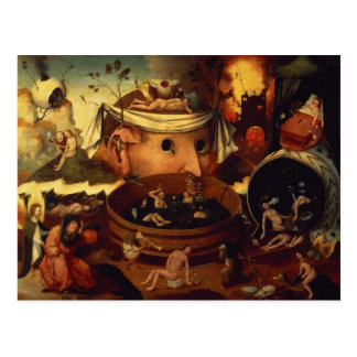 Tondal's Vision by Hieronymous Bosch Postcard