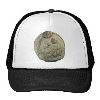 Tondo Pitti, Madonna and Child by Michelangelo Trucker Hat