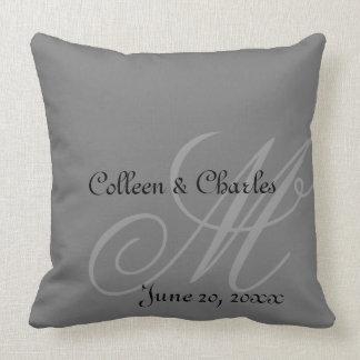 Tone on Tone Monograms Pillow