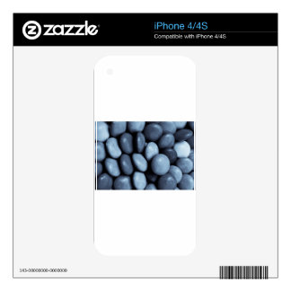 Toned Abstract art Decals For iPhone 4S