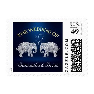 TONELADAS de personalizado del boda de la luz de Sellos
