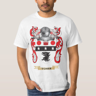 Toner Family Crest (Coat of Arms) Tee Shirt