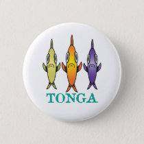 Tonga 3-Fishes Button
