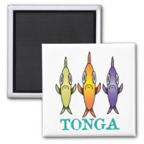 Tonga 3-Fishes Magnet