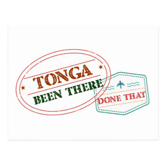 Tonga Been There Done That Postcard