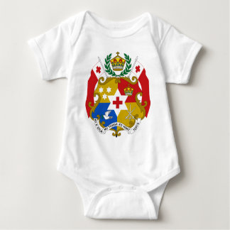 Tonga Coat of Arms Baby Bodysuit