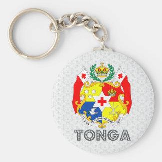 Tonga Coat of Arms Keychain