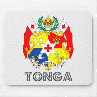 Tonga Coat of Arms Mouse Pad