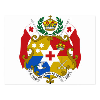 Tonga Coat of Arms Post Cards