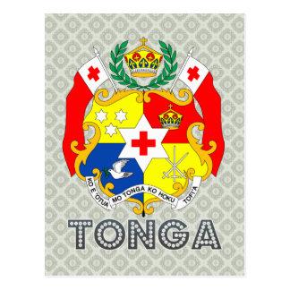 Tonga Coat of Arms Postcard