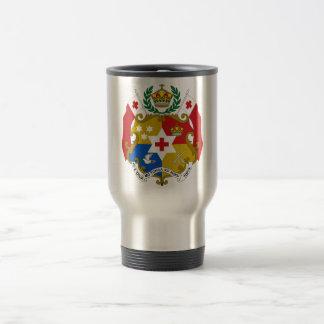Tonga Coat of Arms Travel Mug