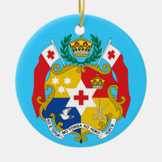 TONGA* Custom Christmas Ornament