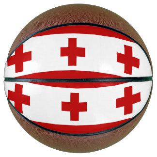 Tonga Flag Basketball