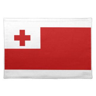 Tonga Flag Cloth Placemat