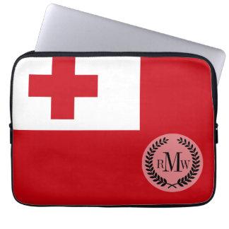 Tonga Flag Computer Sleeve