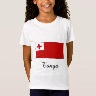 Tonga Flag Design T-Shirt