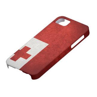 Tonga Flag iPhone SE/5/5s Case