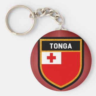 Tonga Flag Keychain