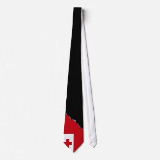 Tonga Flag Neck Tie