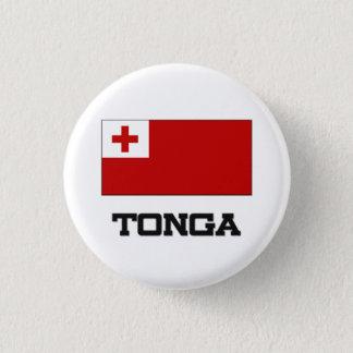 Tonga Flag Pinback Button