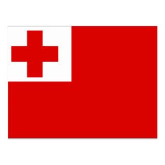 Tonga Flag Postcard