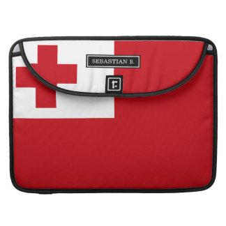 Tonga Flag Sleeve For MacBooks