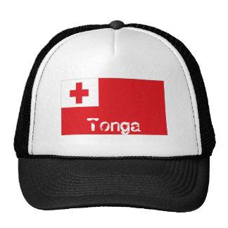 Tonga flag trucker mesh souvenir hat
