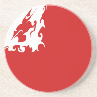 Tonga Gnarly Flag Drink Coasters
