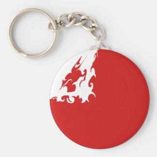 Tonga Gnarly Flag Keychain