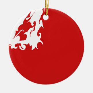 Tonga Gnarly Flag Ornaments