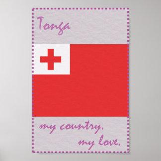 Tonga My Country My Love Poster