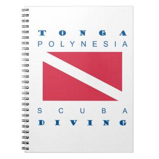 Tonga Polynesia Spiral Notebook