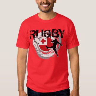 Tonga Rugby Fans T-Shirt Kick