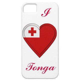 Tonga Tongan flag iPhone SE/5/5s Case
