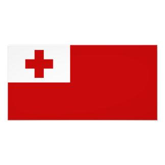 Tonga – Tongan Flag Photo Print
