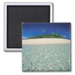 Tonga, Vava'u, Landscape 2 2 Inch Square Magnet