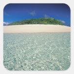 Tonga, Vava'u, Landscape 2 Square Sticker