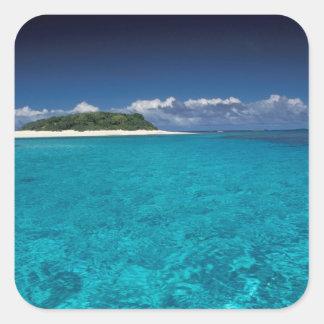 Tonga, Vava'u, Landscape Square Sticker
